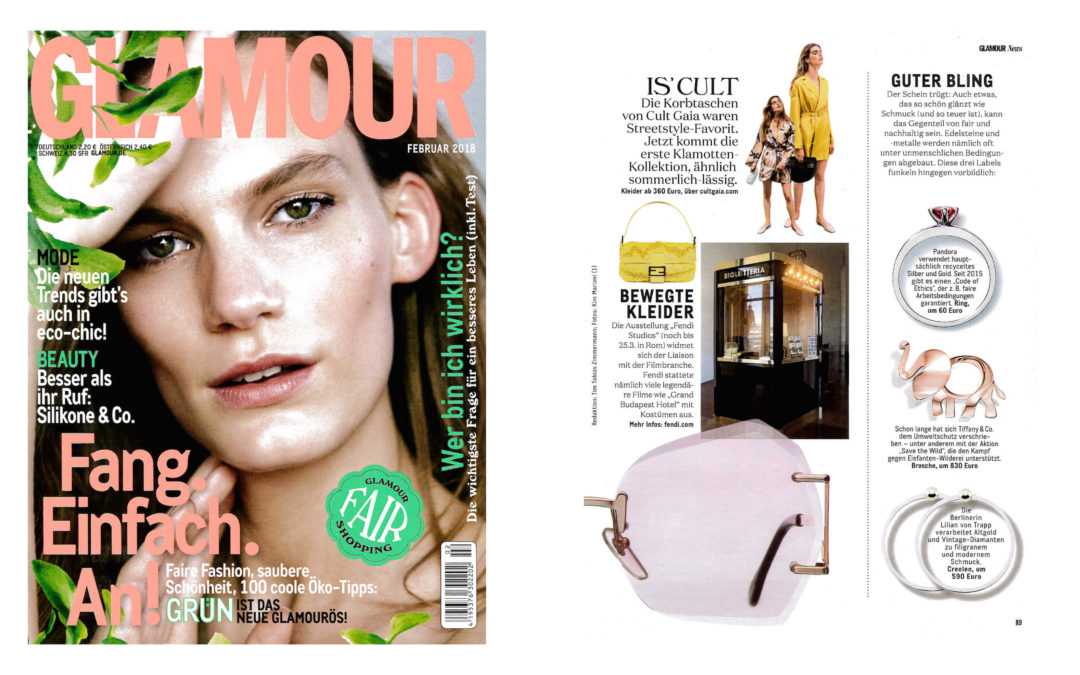 Glamour Germany February 2018 Lvt